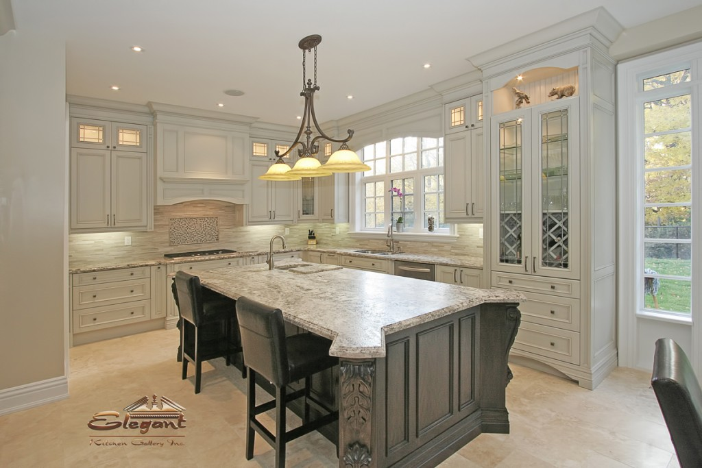Elegant gallery elegant kitchen for Kitchen ideas elegant