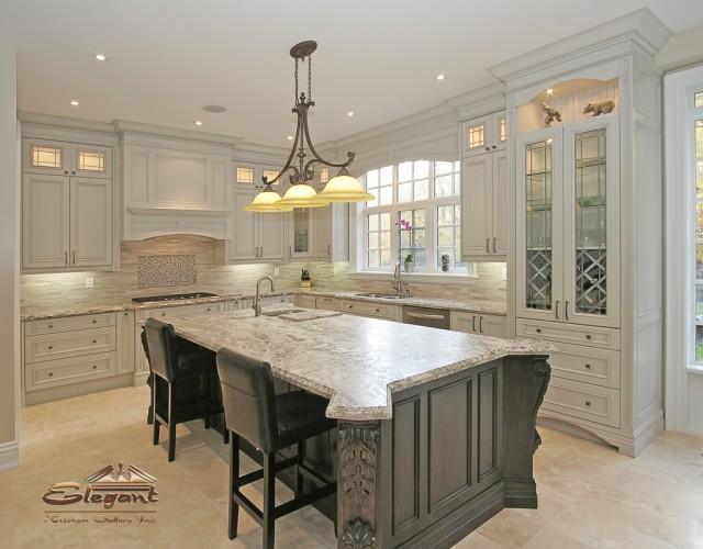 Traditional elegant kitchen for Traditional elegant kitchens